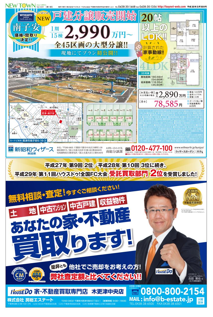 新昭和ウィザース東関東南総分譲課 房総エステート ハウスドゥ